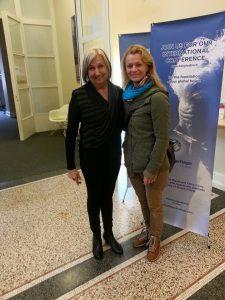 Kathy Corey ja Kaisa Mönchengladbachis 30.aprill 2015